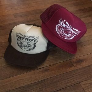 Other - Kitty Cat Snap Backs (DIRTY)
